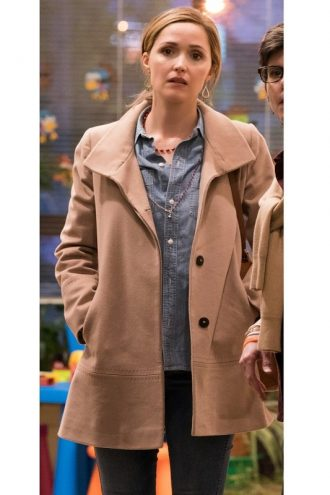 Instant Family Ellie Brown Coat