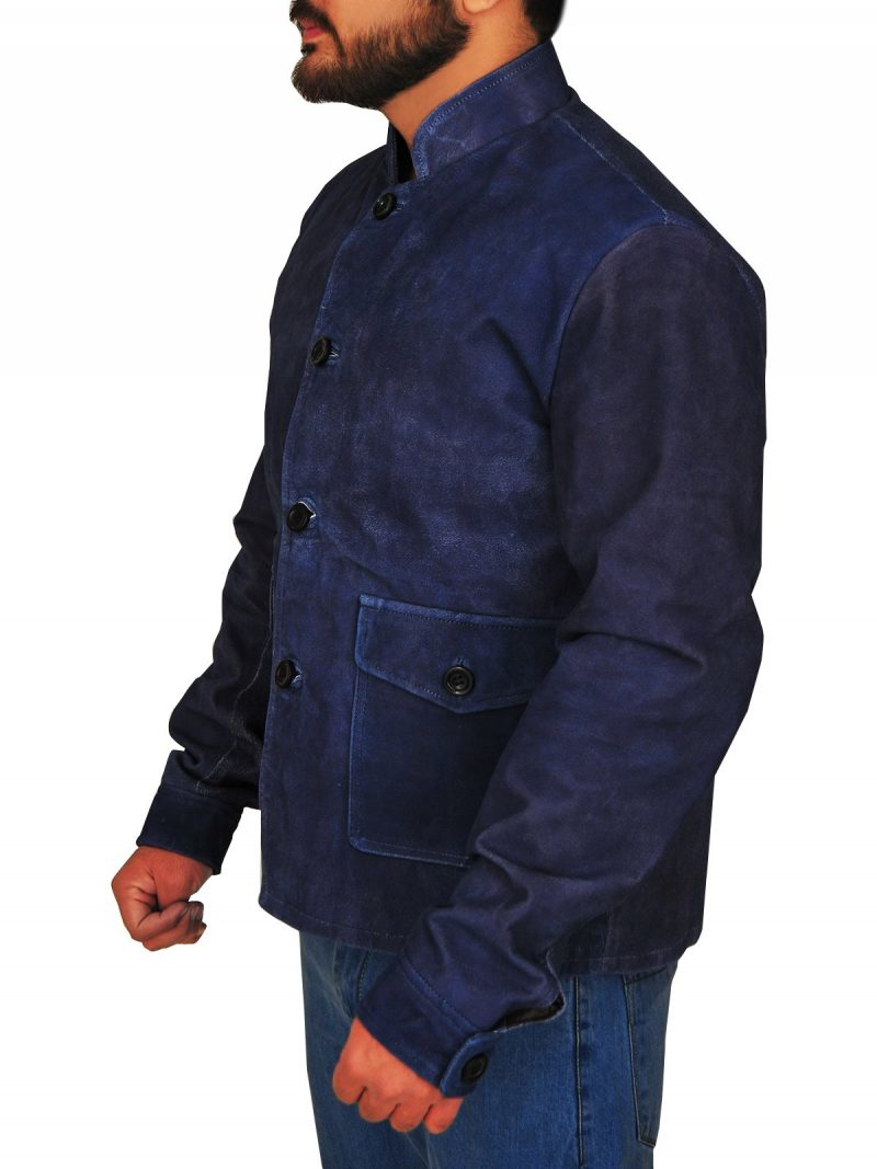 Commander Spock Suede Blue Jacket