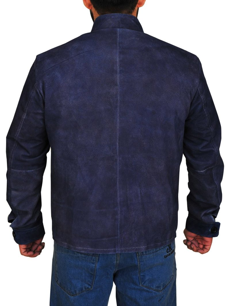 Zachary Quinto Star Trek Beyond Commander Spock Suede Jacket