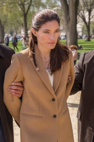 Jennifer Carpenter The Enemy Within Erica Shepherd Trench Coat