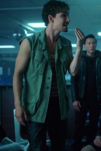 The Umbrella Academy Klaus Hargreeves Green Vest