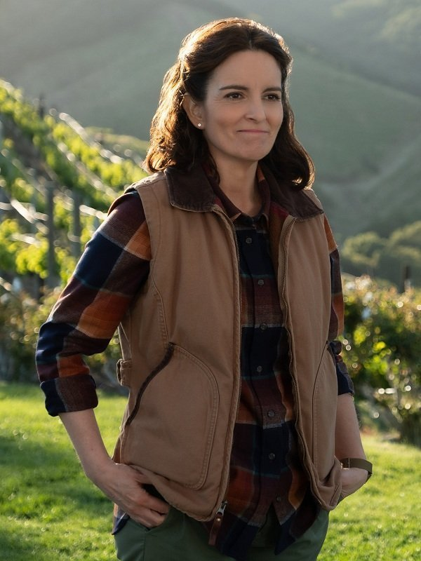 Wine Country Tina Fey Brown Vest