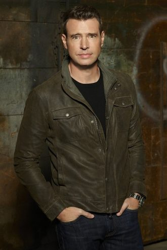 Scott Foley Whiskey Cavalier Series Leather Jacket