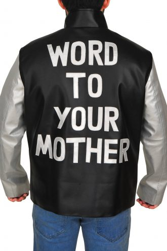 Word To Your Mother Vanilla Ice Cosplay Leather Jacket