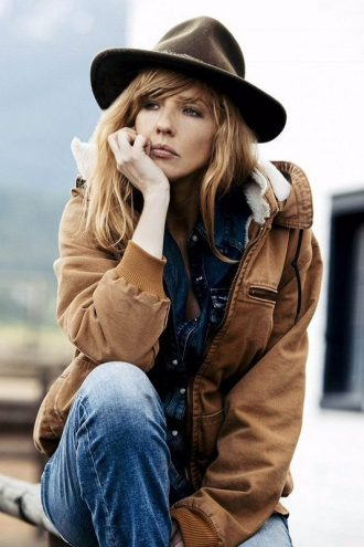 Yellowstone Beth Dutton Brown Jacket