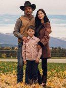 Kelsey Asbille Yellowstone Monica Dutton Coat