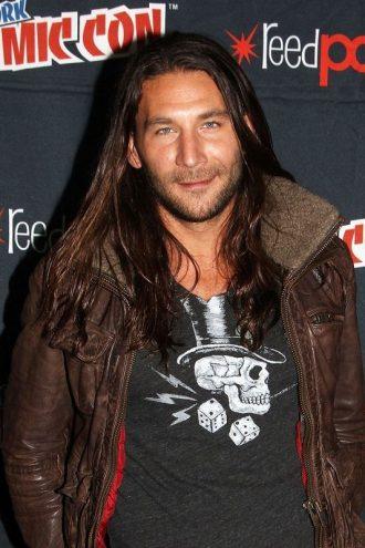 New York Comic Con Zach McGowan Leather Jacket