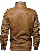 men's fashion, leather jacket
