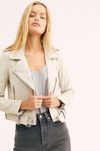 ladies jacket, leather jacket