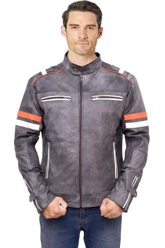 biker jacket, men's jacket