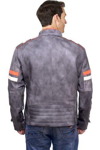motorcycle clothing, leather jacket