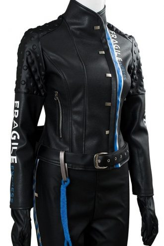 Video Game Death Stranding Lea Seydoux Cosplay Costume Jacket