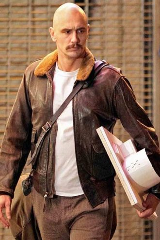 Zeroville James Franco Fur Jacket