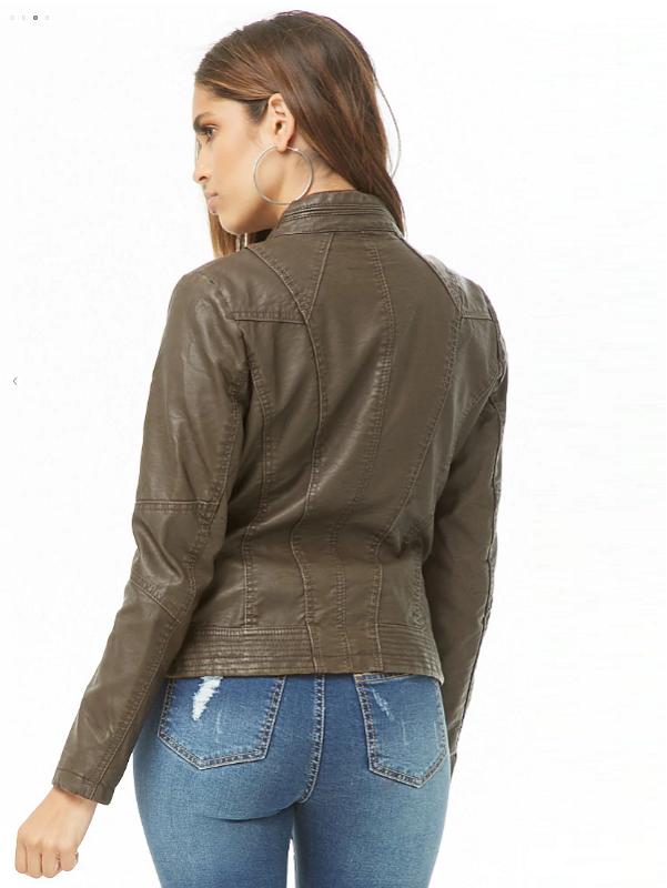 moto design , zip front pockets
