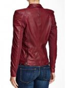 Women's Jacket, brown leather jacket