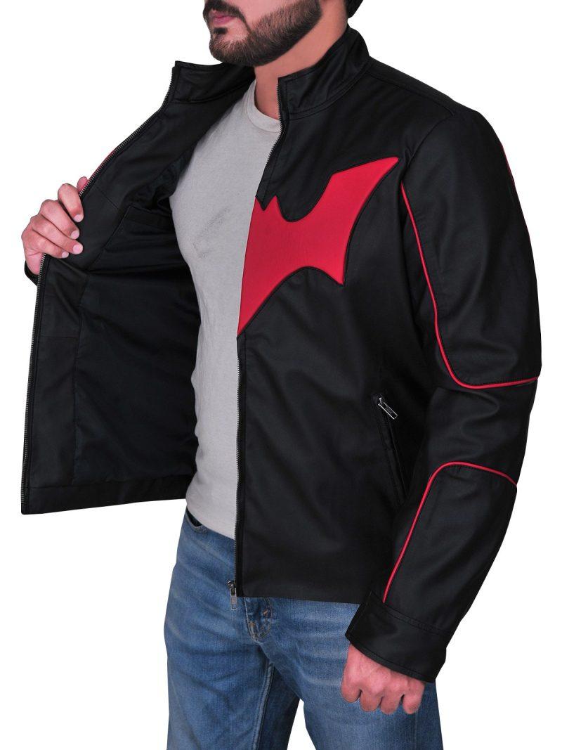 Batman Beyond Terry Mcginnis Leather Jacket