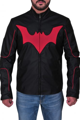 Terry Mcginnis Batman Beyond Cosplay Logo Jacket