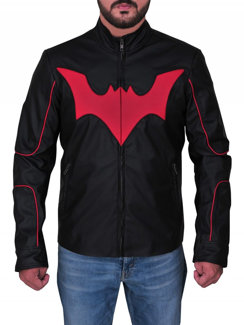 Terry Mcginnis Batman Beyond Cosplay Logo Jacket