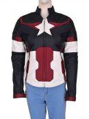 Captain America Costume Jacket For Women