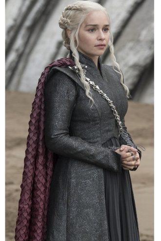 Game Of Thrones Emilia Clarke Wool Coat