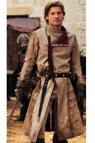 Game of Thrones Jaime Lannister Costume Coat