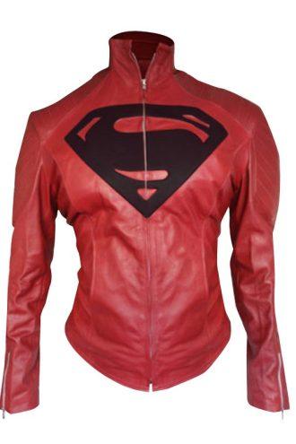 Supergirl Red And Black Jacket
