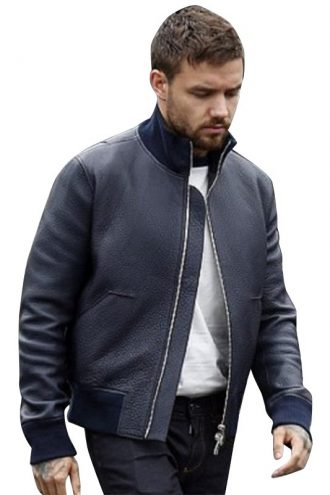 American Singer Liam Payne Stylish Black Jacket