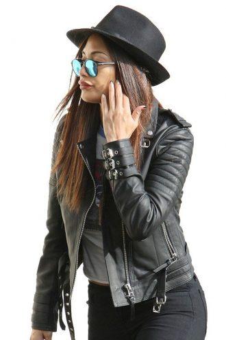 American Singer Nicole Scherzinger Casual Jacket