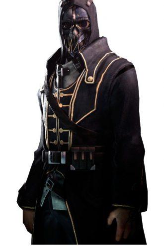 Corvo Attano Dishonored Video Game Black Coat