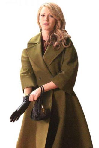 Drama The Age of Adaline Blake Lively Green Coat
