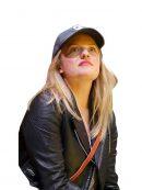Elizabeth Moss Jacket at Qudos Bank Arena