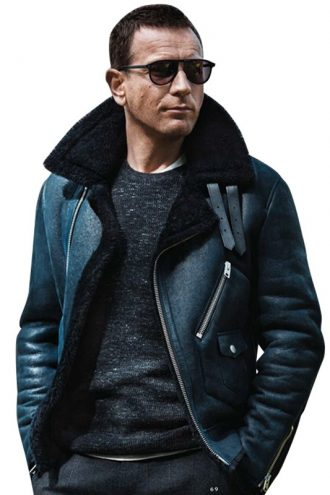 Ewan Mcgregor Winter Shearling Jacket