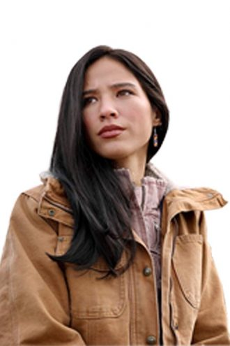 Kelsey Asbille Monica Dutton Yellowstone Jacket