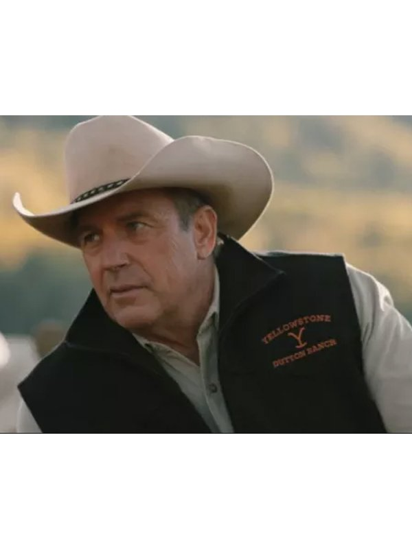 Kevin John Dutton Costner Yellowstone vest