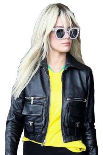 Halsey Ashley Nicolette Leather Jacket