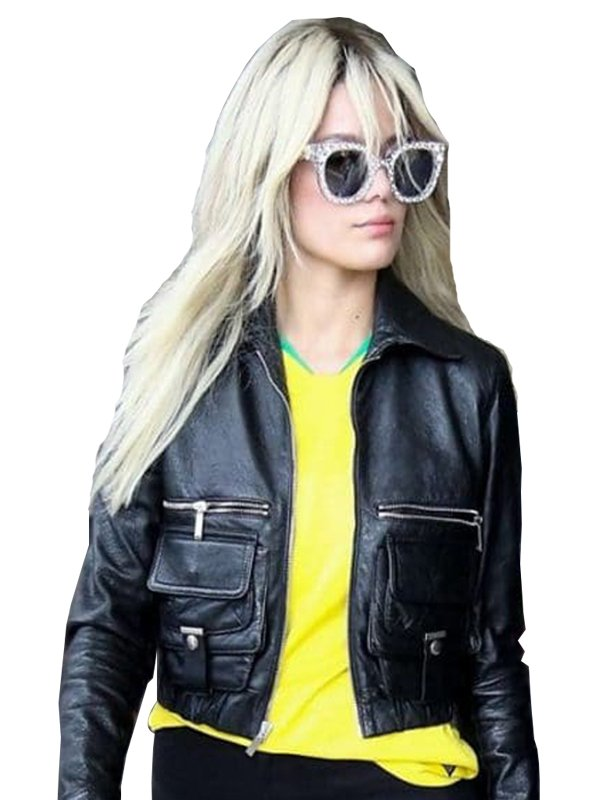 Halsey Ashley Nicolette Leather Jacket