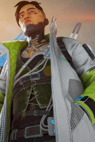 Crypto Legend Jacket in Apex Legends Video Game