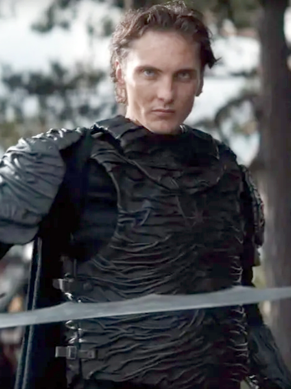 Eamon Farren in The Witcher 2019 TV Series Leather Vest