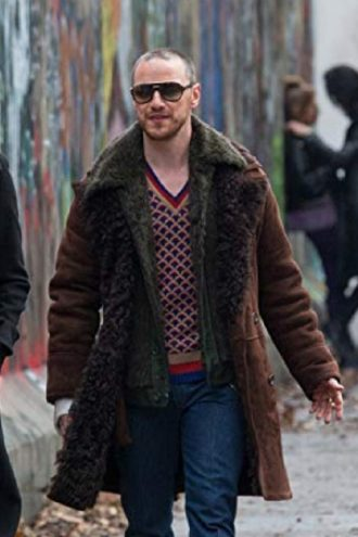 James McAvoy Atomic Blonde Coat