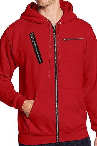 La Casa De Papel Money Heist Red Jacket with Hood