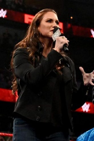 Wrestler Stephanie McMahon Jacket