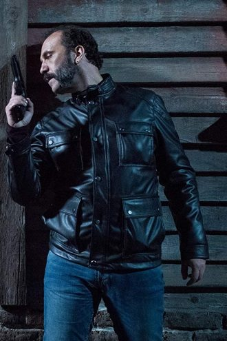 Cristóbal Pinto Black Leather Jacket