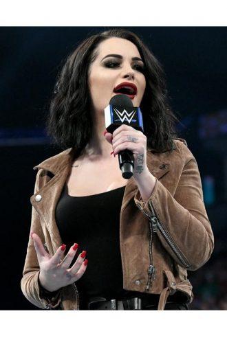 Wrestler Saraya Jade Bevis Paige Jacket