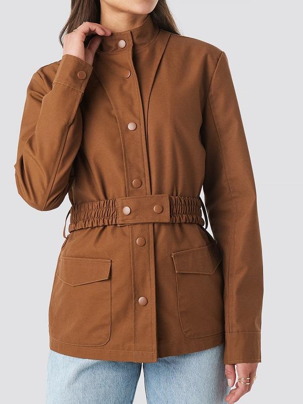 Elegant Style Belted Jacket