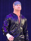 wrestler Dolph Ziggler Black Leather Jacket