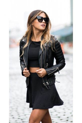 Quilted-Kay-Michaels-Leather-Jacket