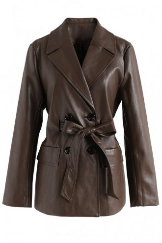 Double-Breasted Classic Blazer For Women