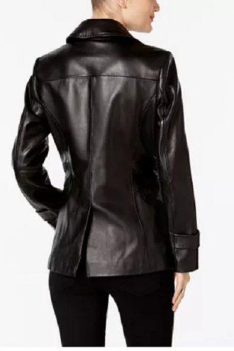 Iconic-Black-Leather-Blazer