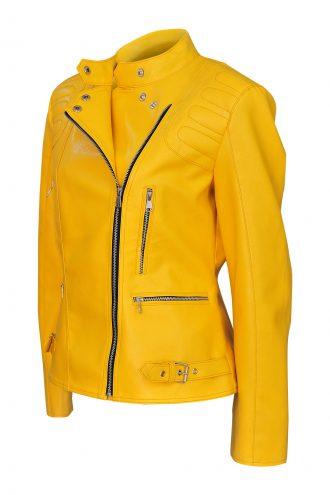 Trendy style Yellow jacket