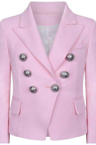 Pink hue Color Classic Blazer